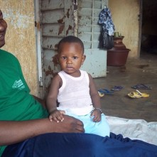 Samba with his son Sékou (private photo, all rights reserved)